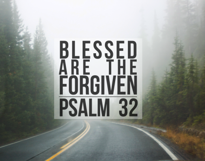 BLESSED ARE THE FORGIVEN